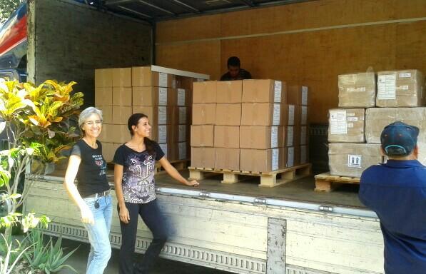 Arbio send jungle-products abroad