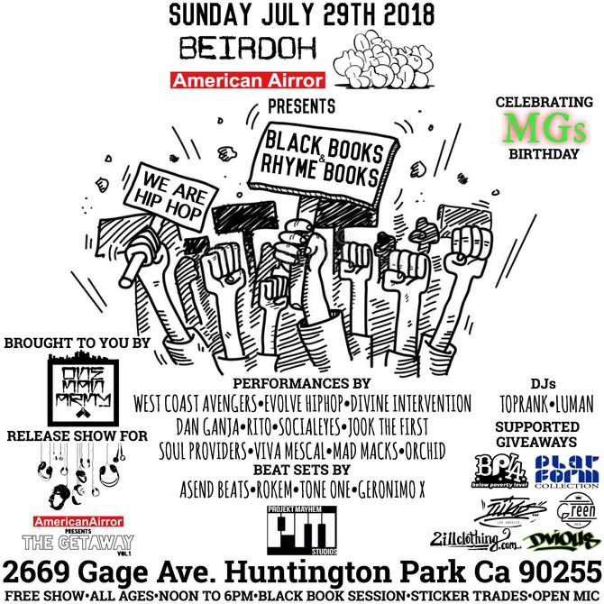 WCA BLACKBOOKS 07/29