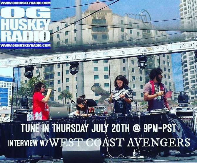 WCA on OG Huskey Radio Thursday the 20th at 9 PM