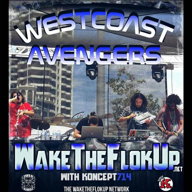 West Coast Avengers on Wake The Flok Up in November!