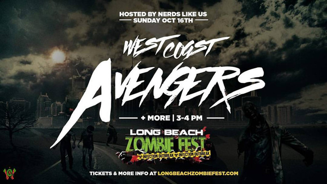 We played Long Beach Zombie Fest!