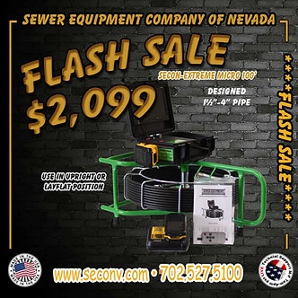 FLASH SALE!!!! SECON-Extreme Micro 100' CORDLESS