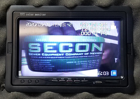 Digital On Screen Footage Counter