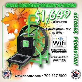 SECON-2000SM 100' w/ Wifi
