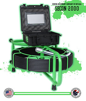 100' Color Sewer Camera