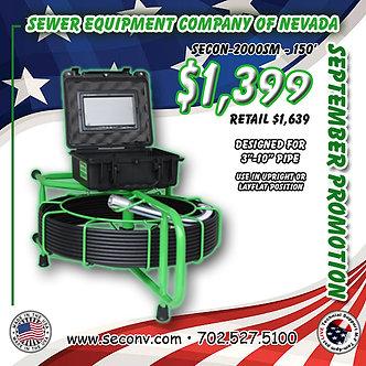 SECON-2000SM 150'