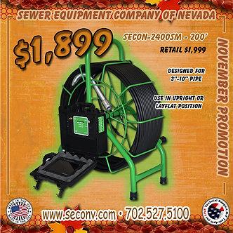 SECON-2400SM 200'