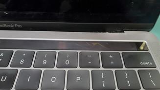 Broken Touchbar