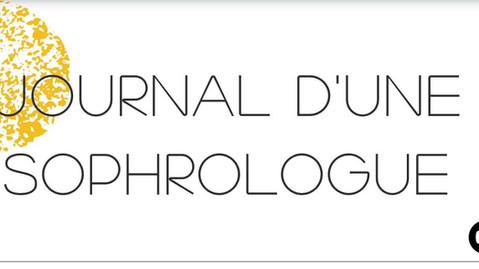 """Ouverture du """"Journal d'une Sophrologue"""""""