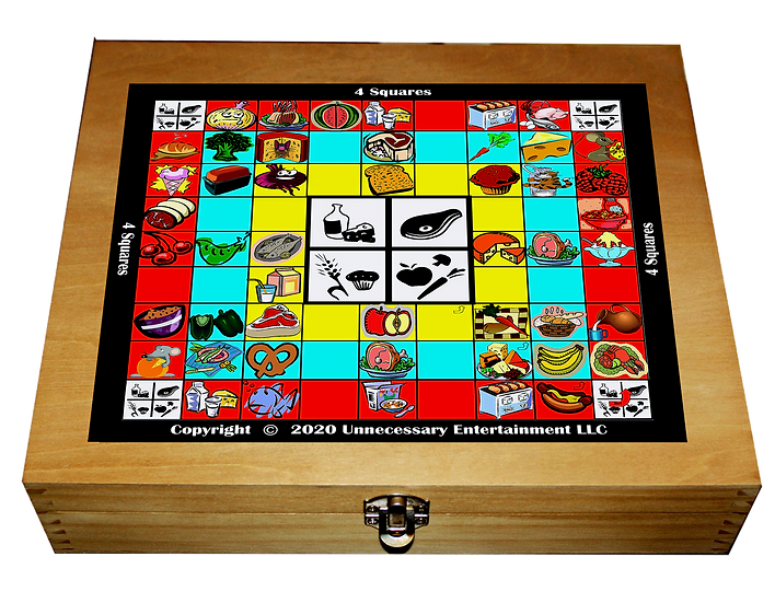 4 Squares Board Game