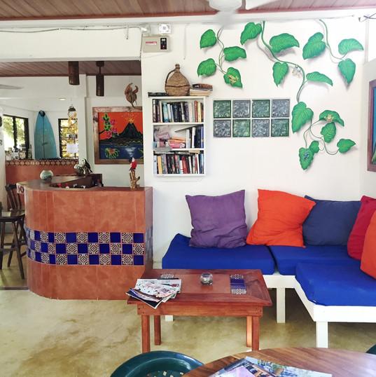 Tropical Sands Dominical Eco Inn  patio3