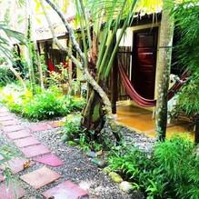TROPICAL SANDS DOMINICAL ECO INN cabinas