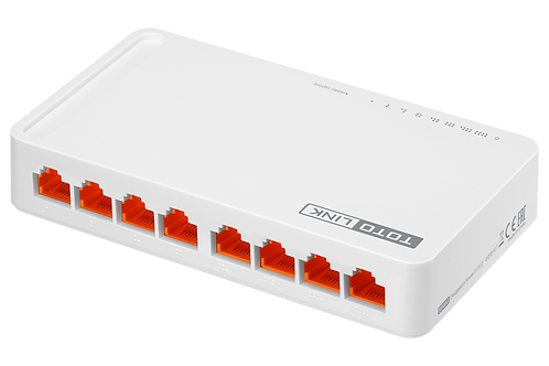 S808 8 Port fast ethernet switch