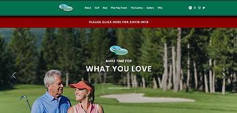 Spur Valley Golf Resort website thumbnail