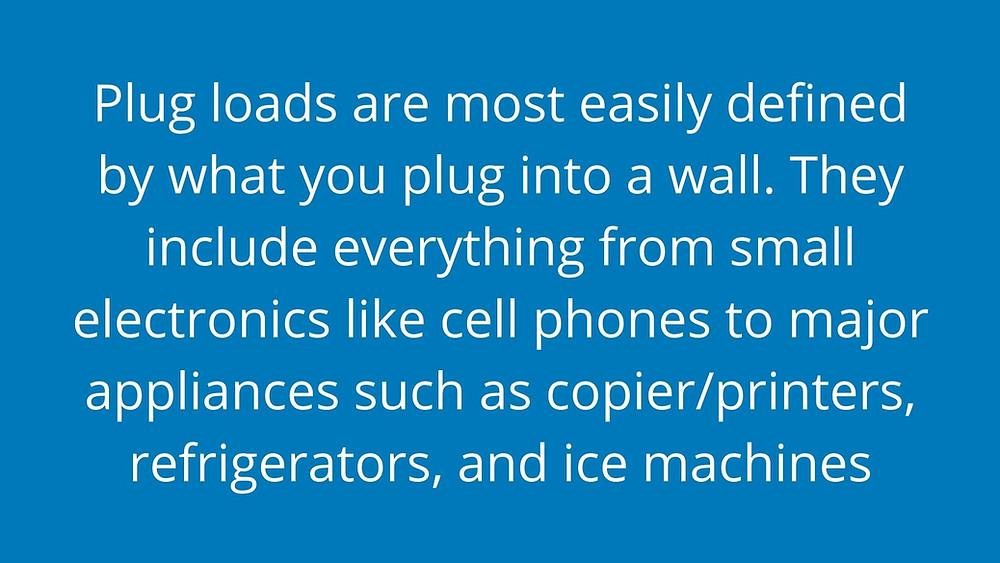 Definition of plug loads