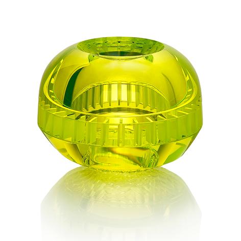 CH 13 2020  uranové sklo, foukané, ručně broušené, řezané, lepené