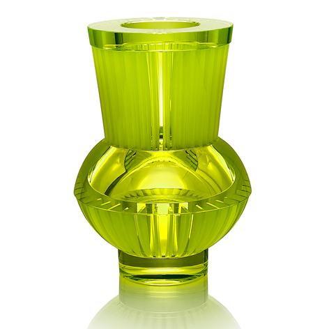 CH 7 2002  uranové sklo, foukané, ručně broušené, řezané, lepené