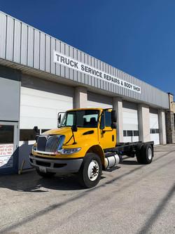 International Truck Color Change After