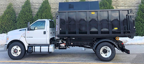 Ford F-750 Truck with Stellar Hook Lift and Custom Chipper Body