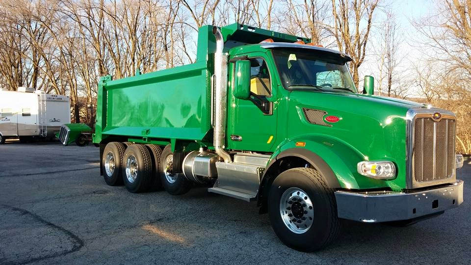 Paint - Peterbilt 2016 Dump Truck
