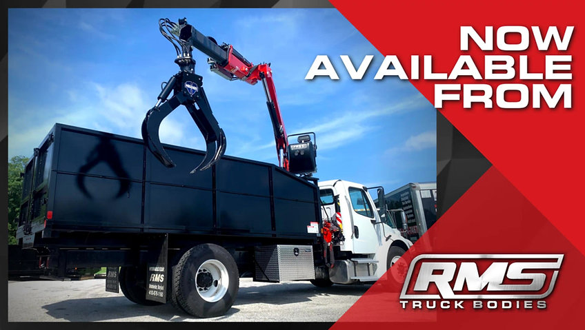 Grapple Loader Body Package - Now Available from RMS Truck Bodies