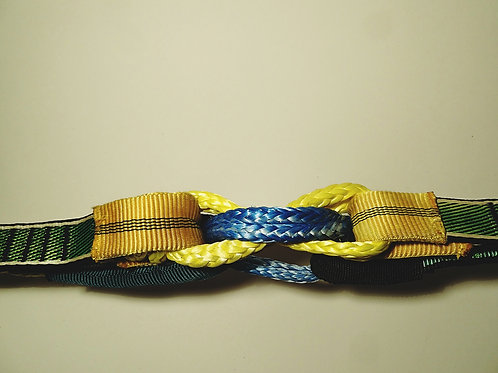 Slackline Highline Inov Split Soft Shackle Schäkel Schneiderline