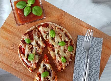 -CH, +PROTEIN pizza