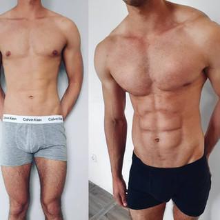 man bodytransformation