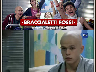 """LADY MAFIA nella fiction RAI, record di ascolti, """"Braccialetti Rossi""""."""