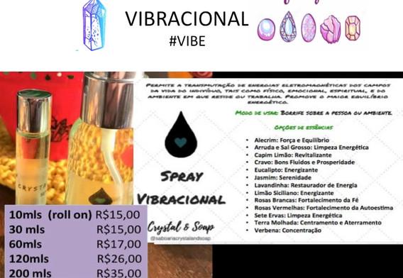 Sprays Vibracionais