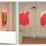 Une vue de ma première exposition à la galerie PMD, Paris, 1995