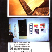 Visuels liés à mon exposition au  Garnerville Arts & Industrial Exchange, New York, 2003