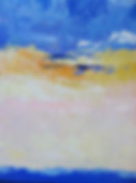 Beach Abstract oil painting