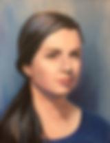 Elisabeth oil painting