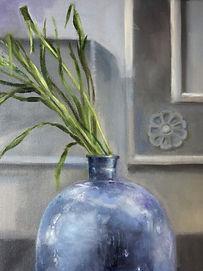 Blue Vase oil painting