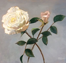 Classical Rose oil painting