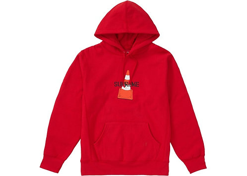 Cone Hoodie Red