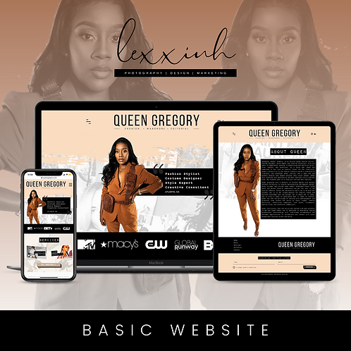 Basic Website Design - $350