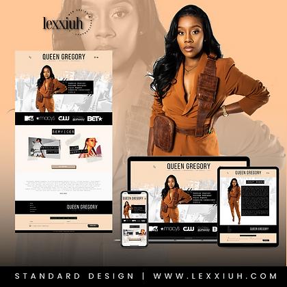 Standard Website Design