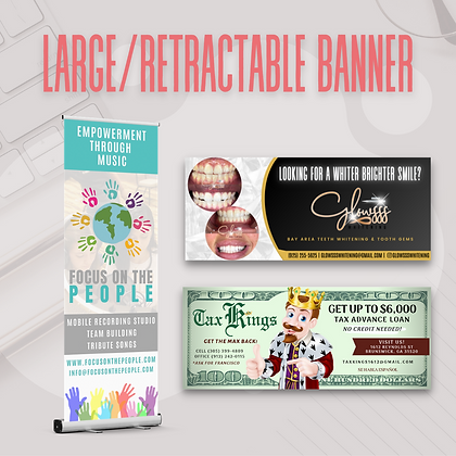 Large/Retractable Banner