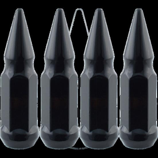 OMC Black Spiked Lugs