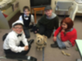 dog training, Annie, movie dog, nyc dog training, kids and dogs, dog actor, leash and learn
