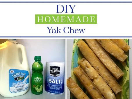 DIY Homemade Yak Chew