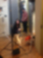 dog training, lewis black, introducing parker dowd, blud hair, behind the scenes, movie dog, nyc dog training, dog actor, leash and learn