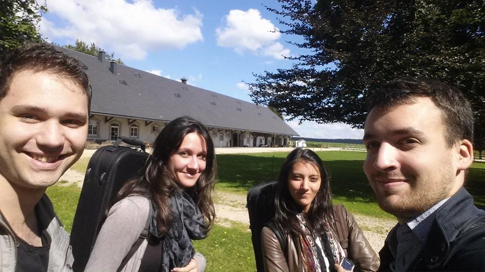 Rurhof (Belgique) - avec les Danel