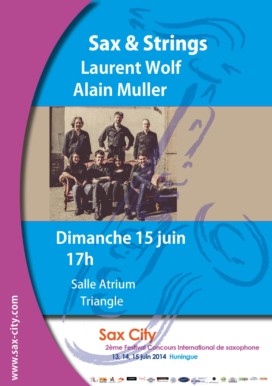 Quatuor Adastra et Laurent Wolf