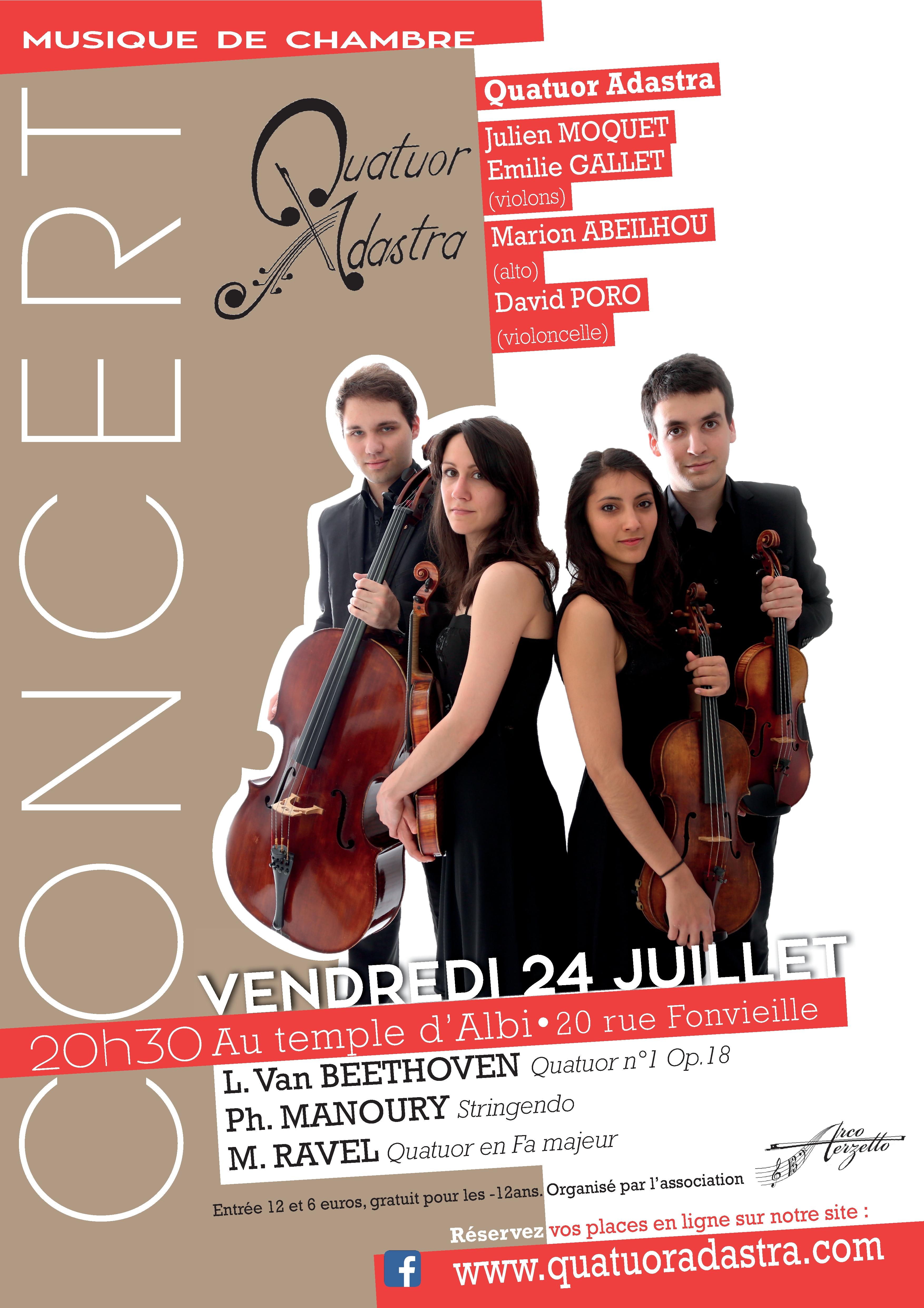 Quatuor Adastra Albi 2015