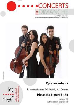 Quatuor Adastra Wissembourg 2014