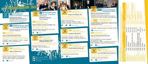 Dépliant Festival d'Autan 2021