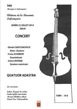 Quatuor Adastra TMD Lafrançaise
